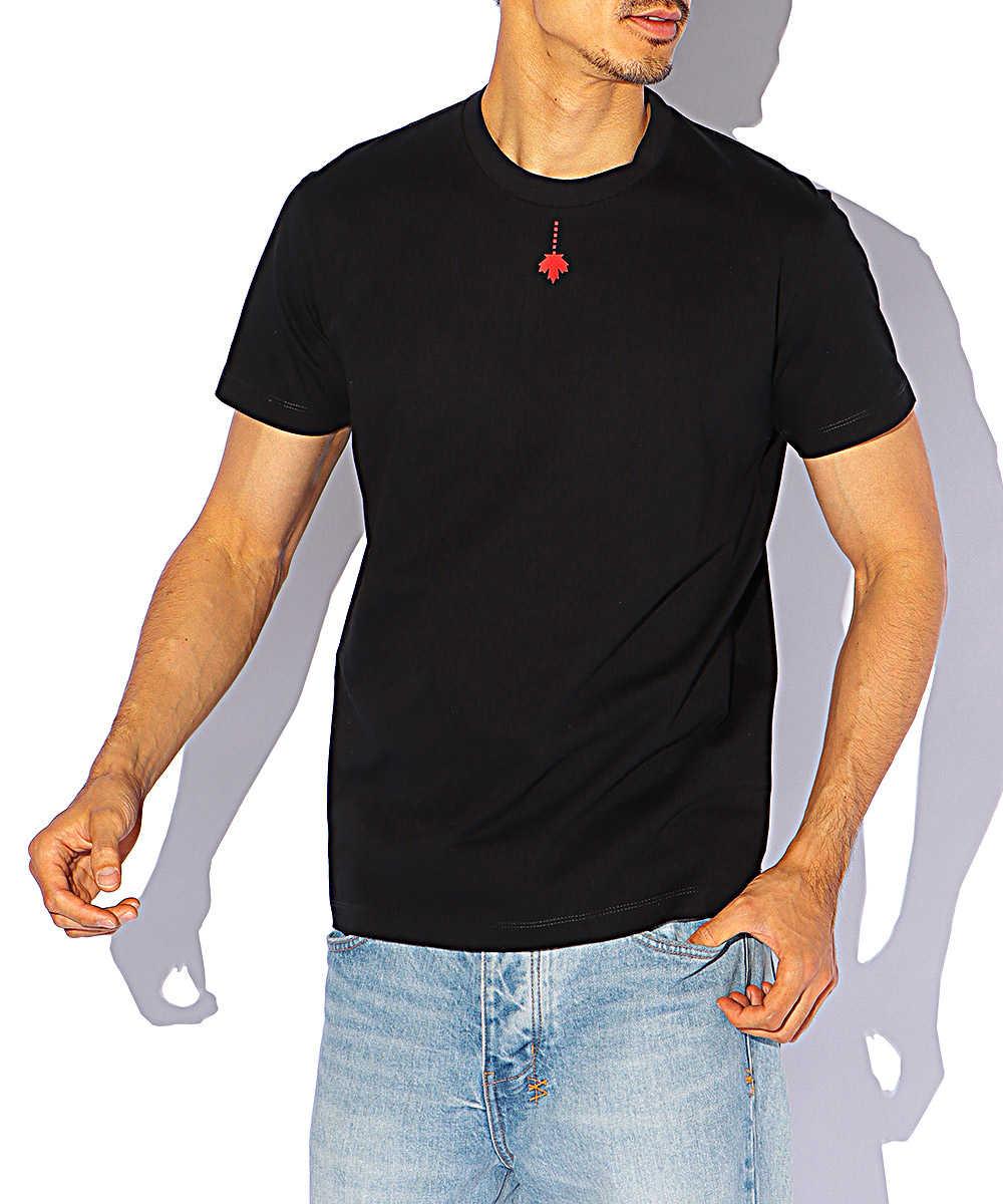 ミニロゴプリントクルーネックTシャツ