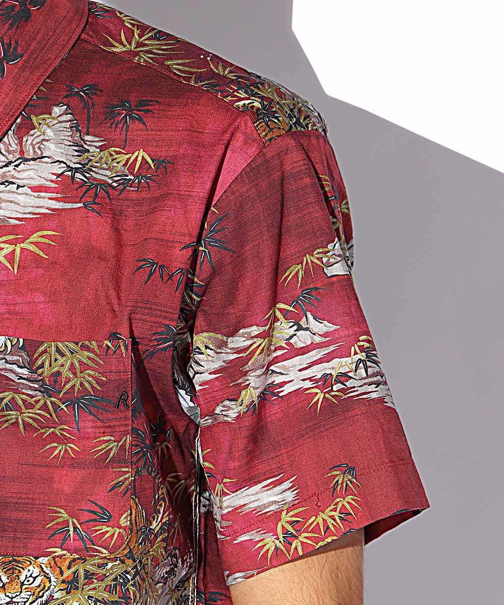 ランドスコープタイガー半袖シャツ