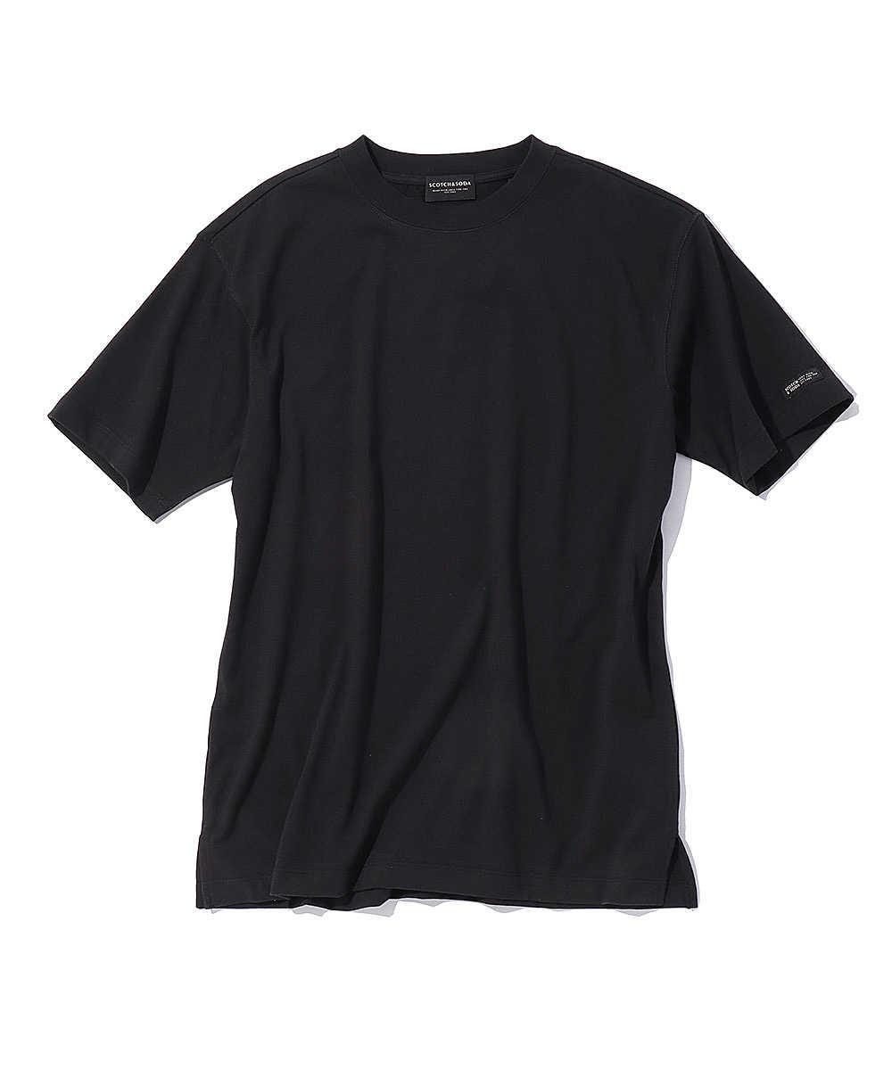 ロゴグラフィッククルーネックTシャツ