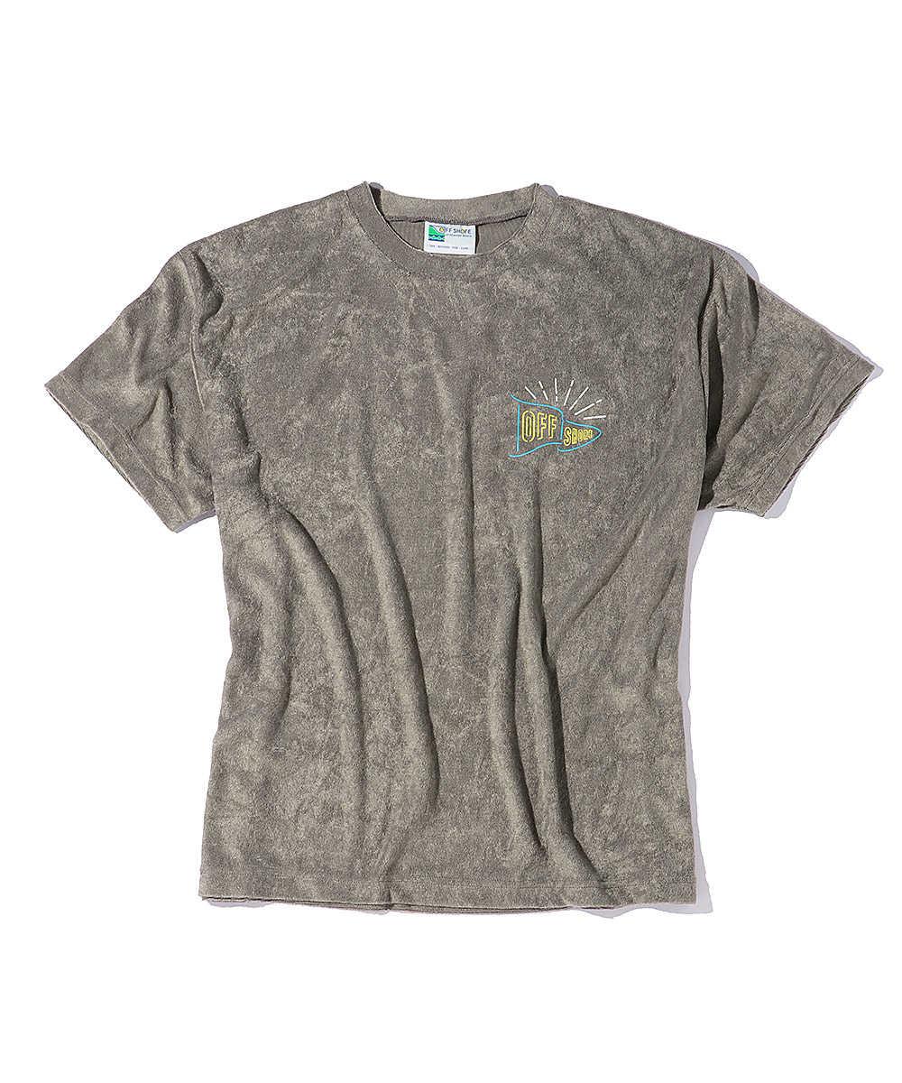 ネオンカラーフラッグクルーネックTシャツ