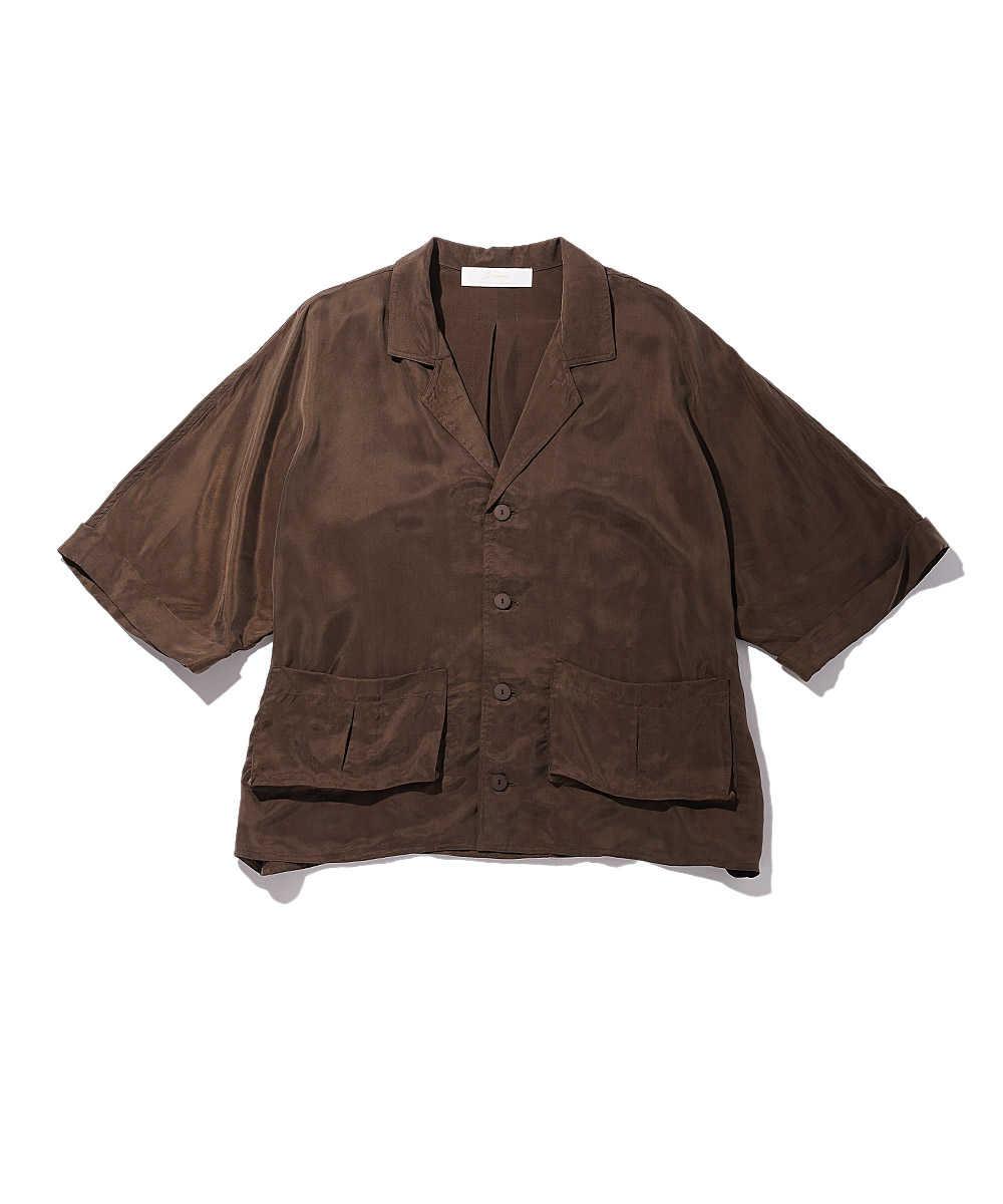 ハーフスリーブシャツジャケット