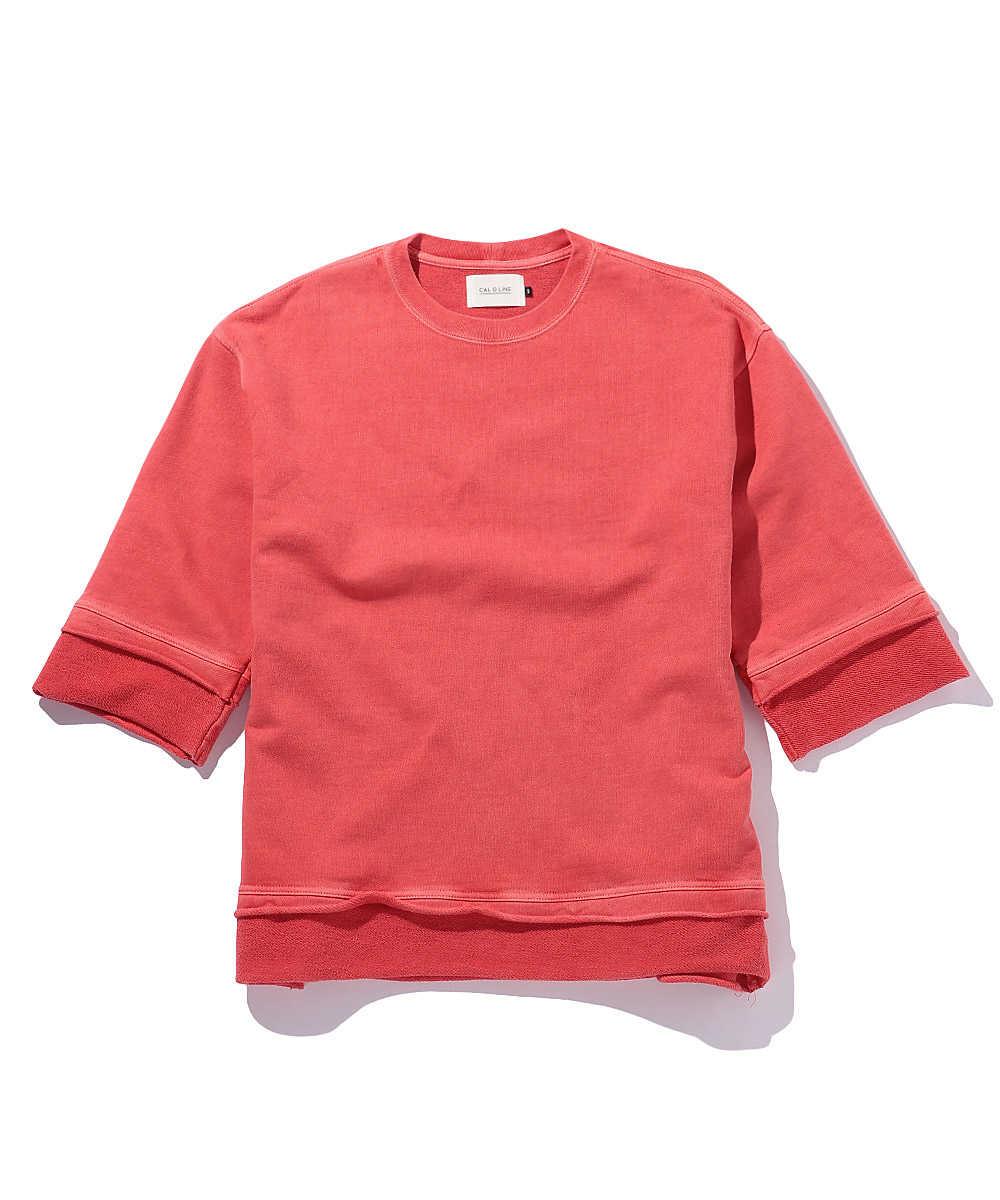 カットオフスウェットシャツ
