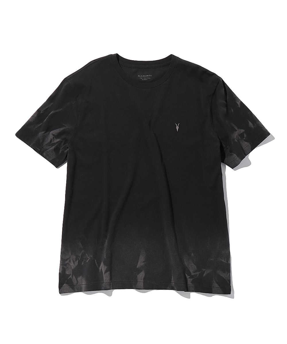 ワンポイントロゴ刺繍コットンクルーネックTシャツ