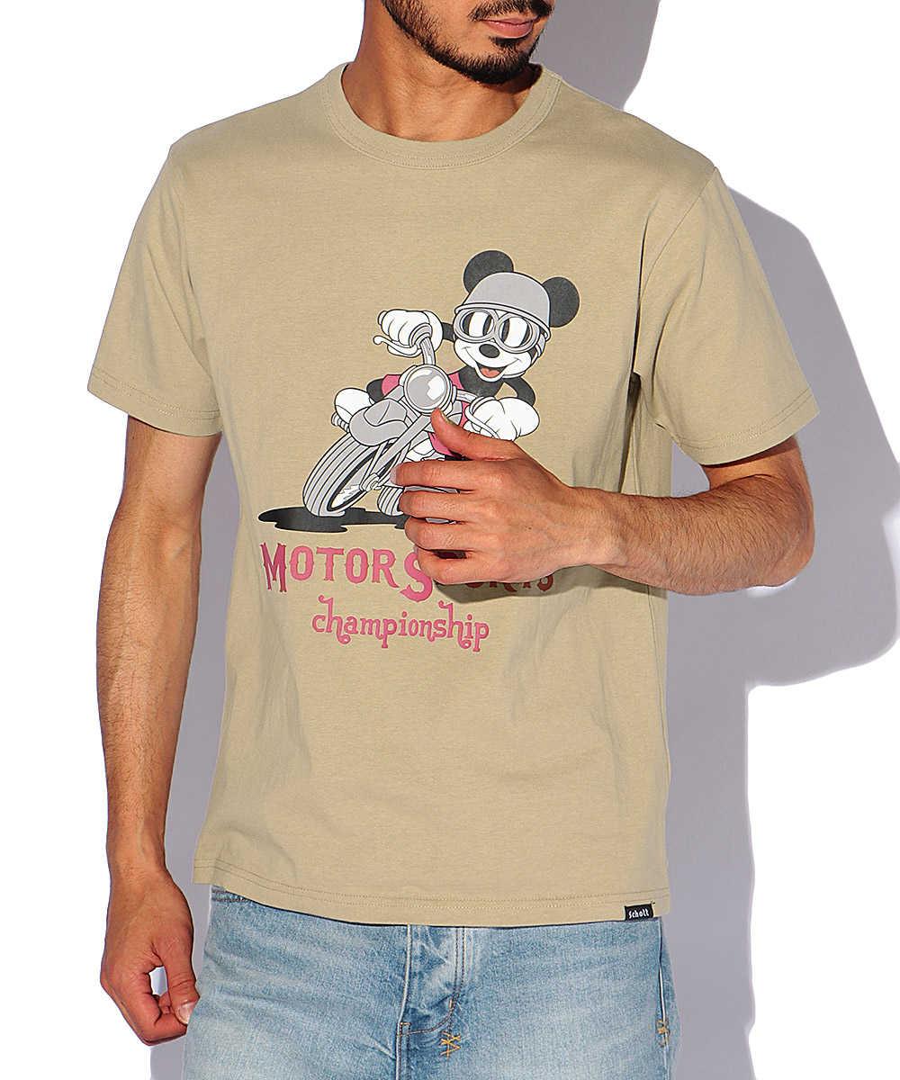 モータースポーツチャンピオンシッププリントクルーネックTシャツ