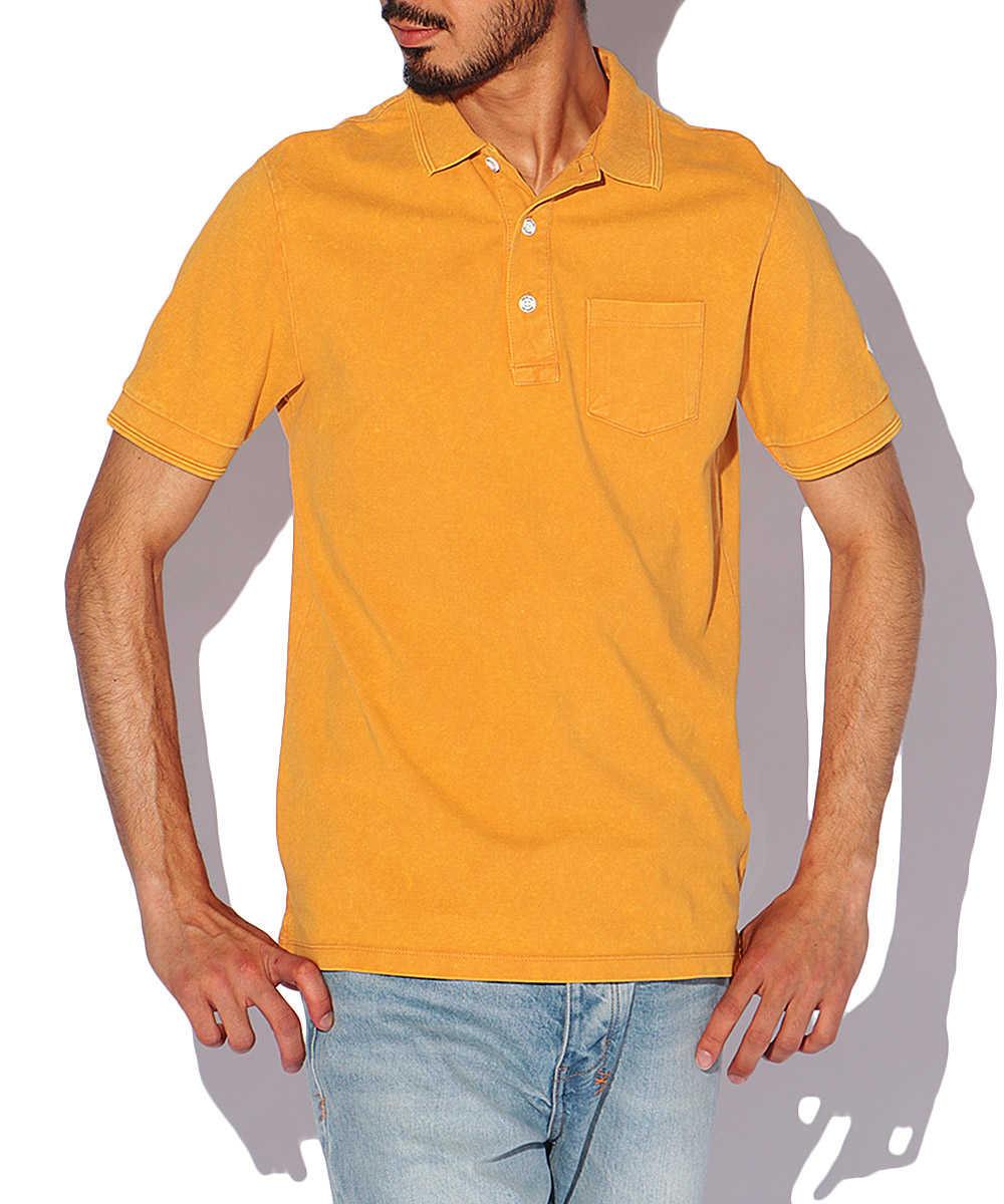 コットンピケポロシャツ