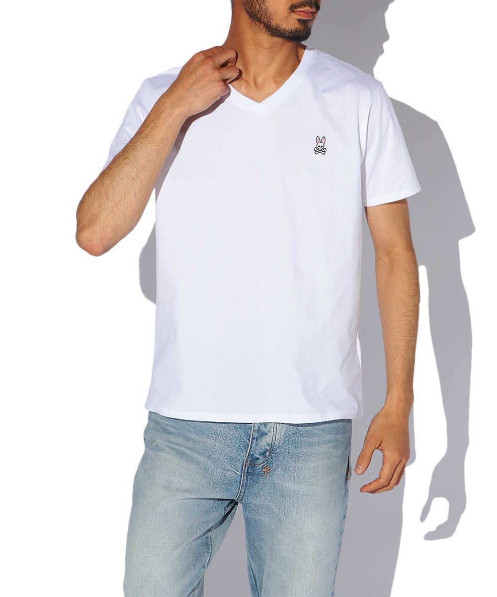 ピマコットンVネックTシャツ