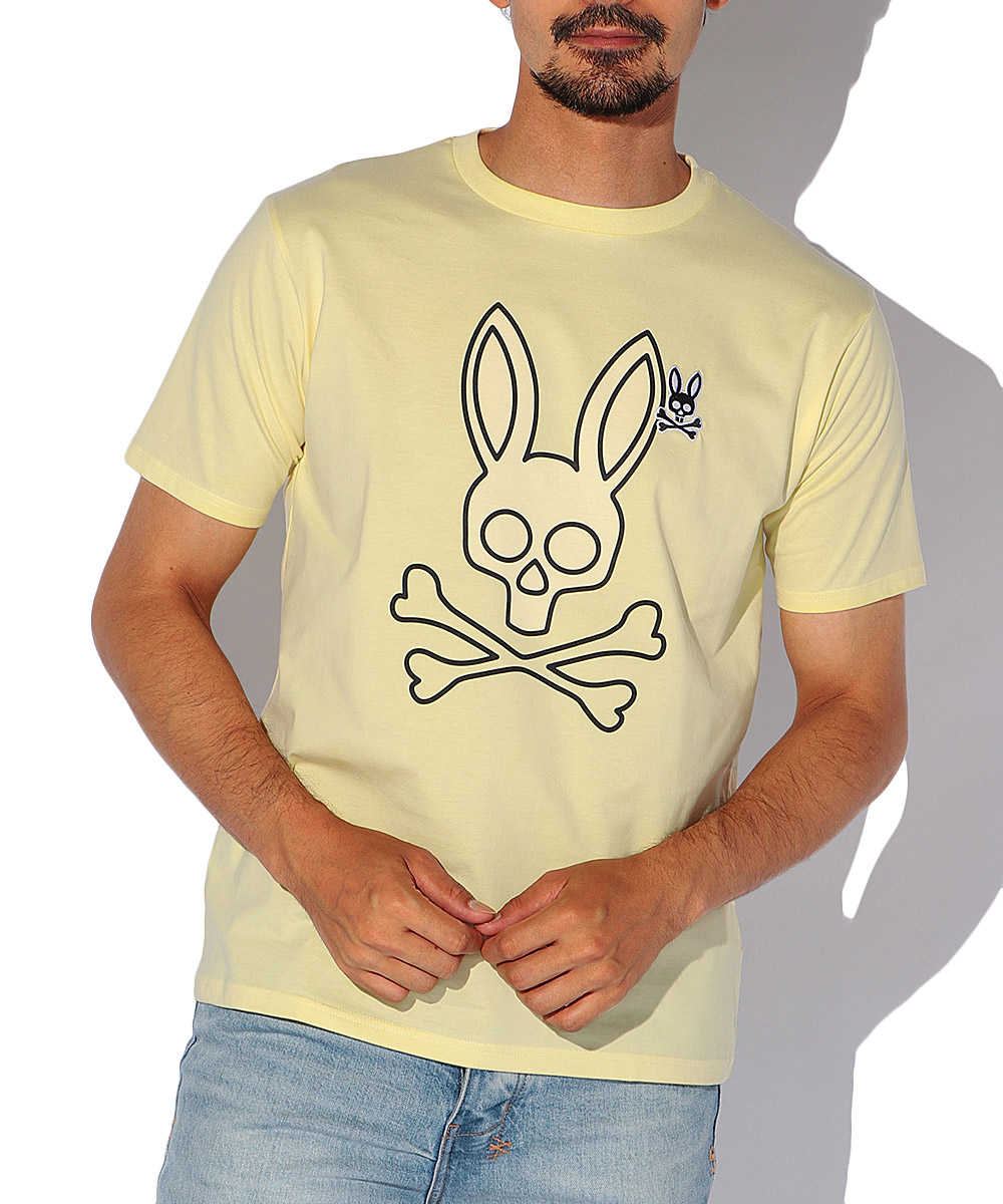 2WAYロゴ コンビクルーネックTシャツ