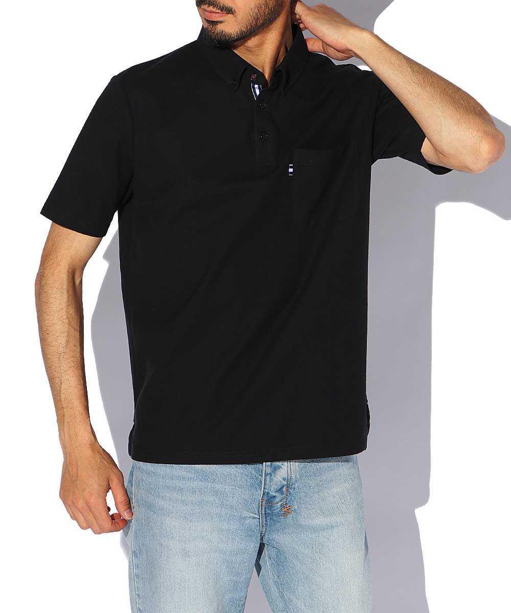 ボタンダウンスマートポロシャツ