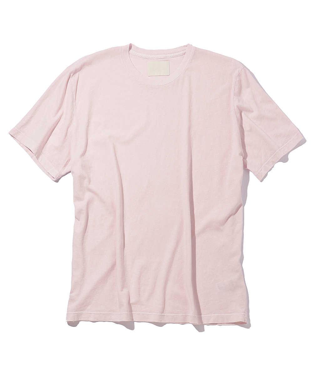 ヴィンテージ加工クルーネックTシャツ