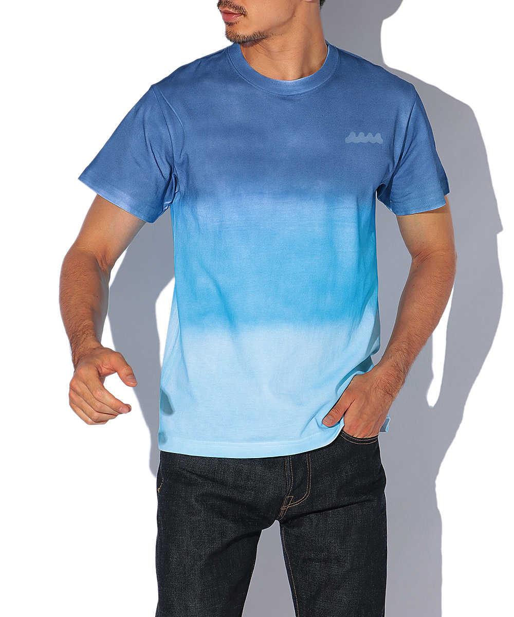 オーバーダイクルーネックTシャツ