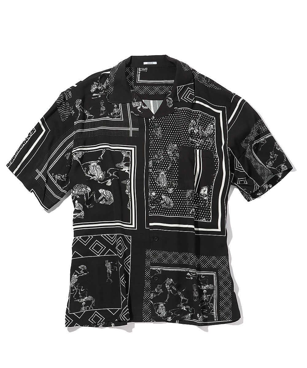 """""""ボウリング SS SUMP""""オープンカラーシャツ"""