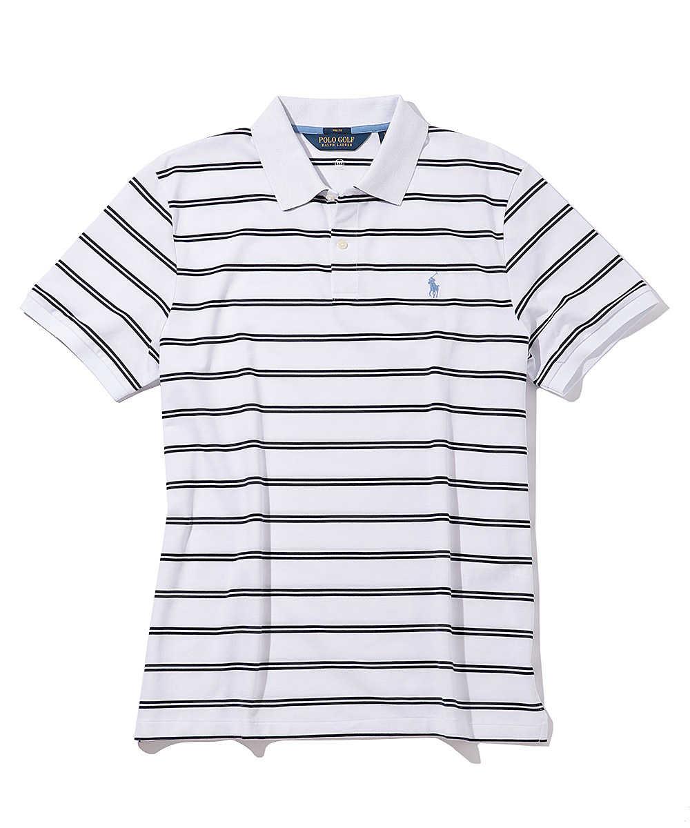 ボーダーポロシャツ