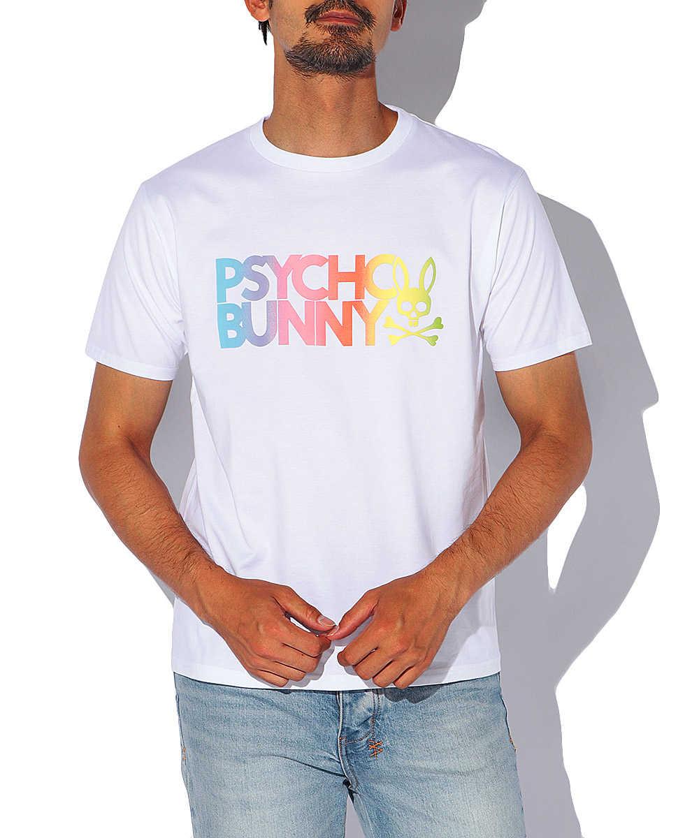 グラデーションプリント クルーネックTシャツ
