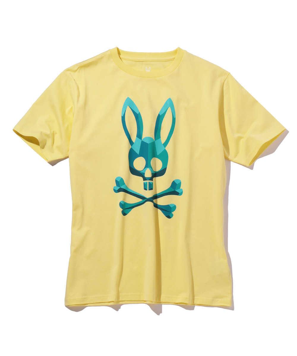 ダイヤモンドバニープリントクルーネックTシャツ