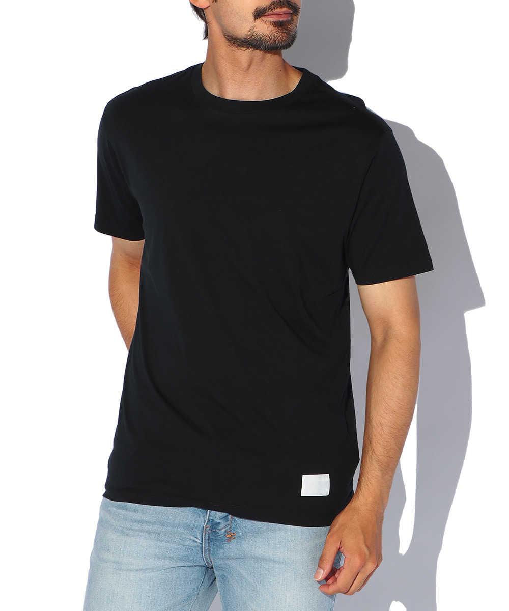 コットンジャージークルーネックTシャツ