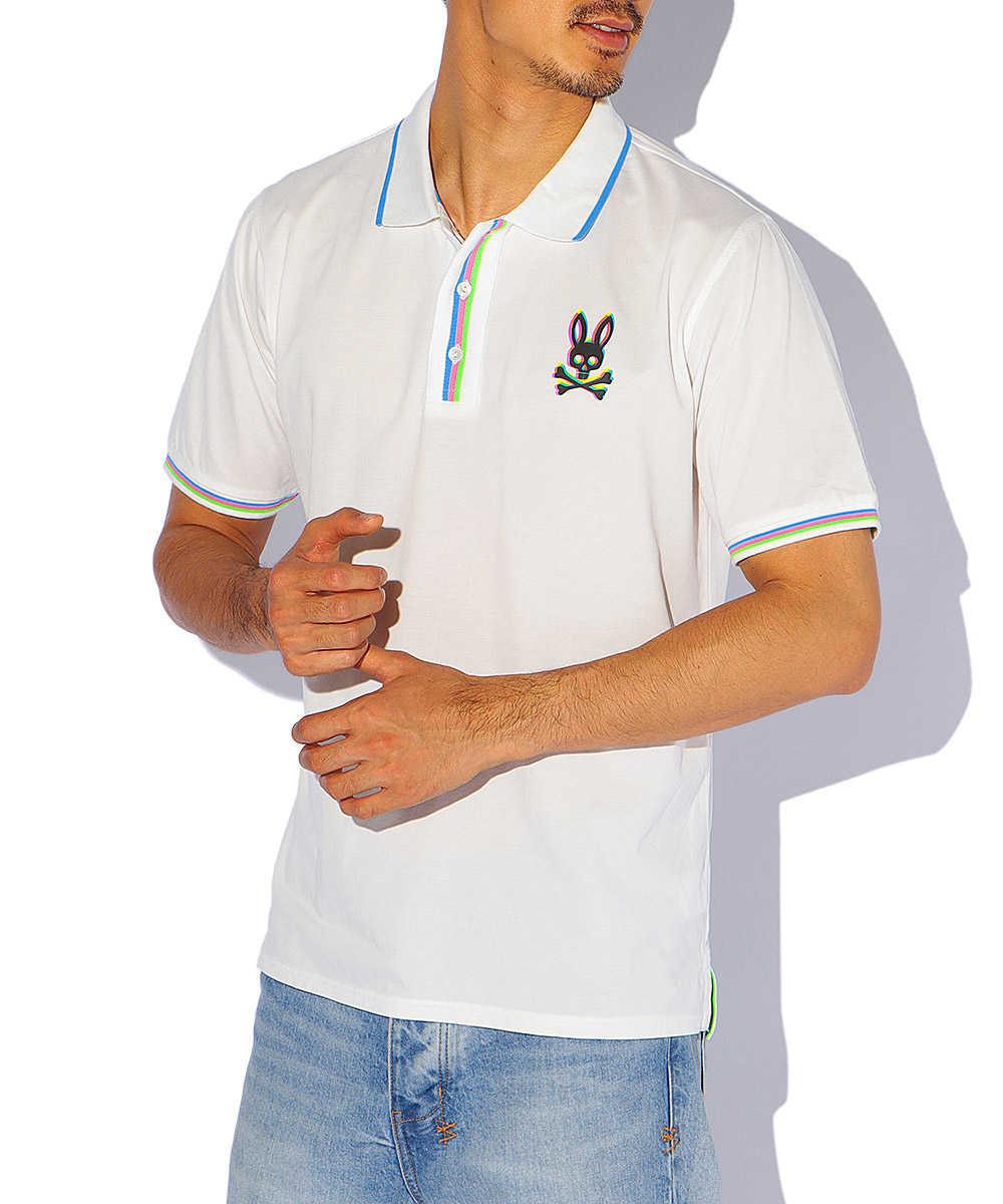 3Dロゴ ポロシャツ
