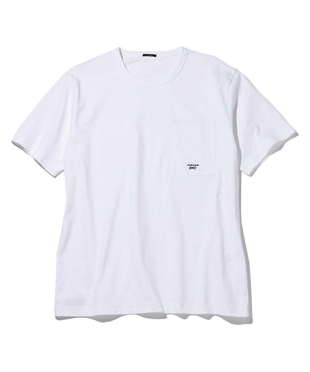 """""""デンハムTEE HCJ""""クルーネックTシャツ"""