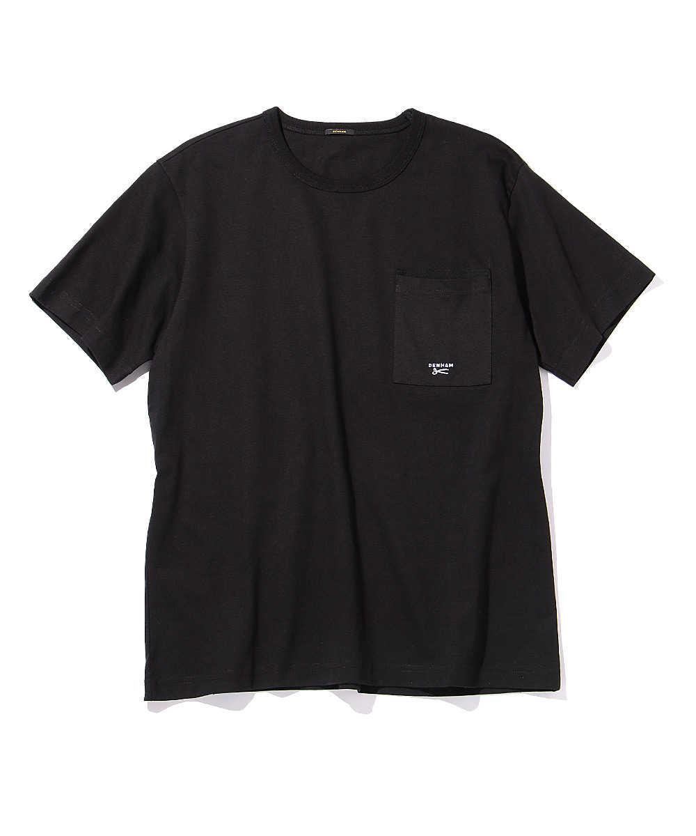 """""""デンハムTEE HCJ""""ポケットクルーネックTシャツ"""
