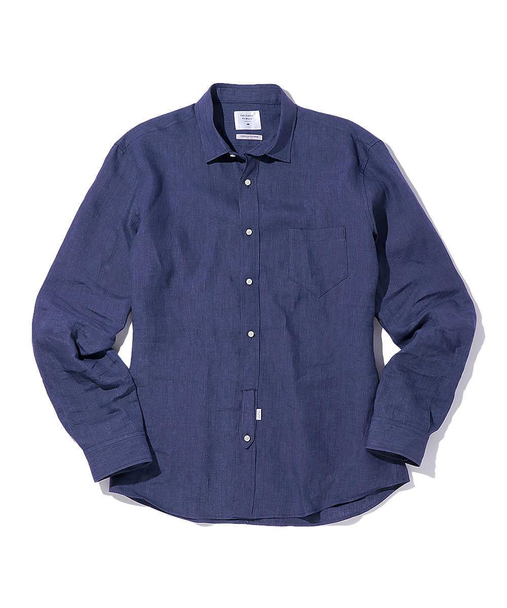 【別注・限定商品】インディゴリネンシャツ