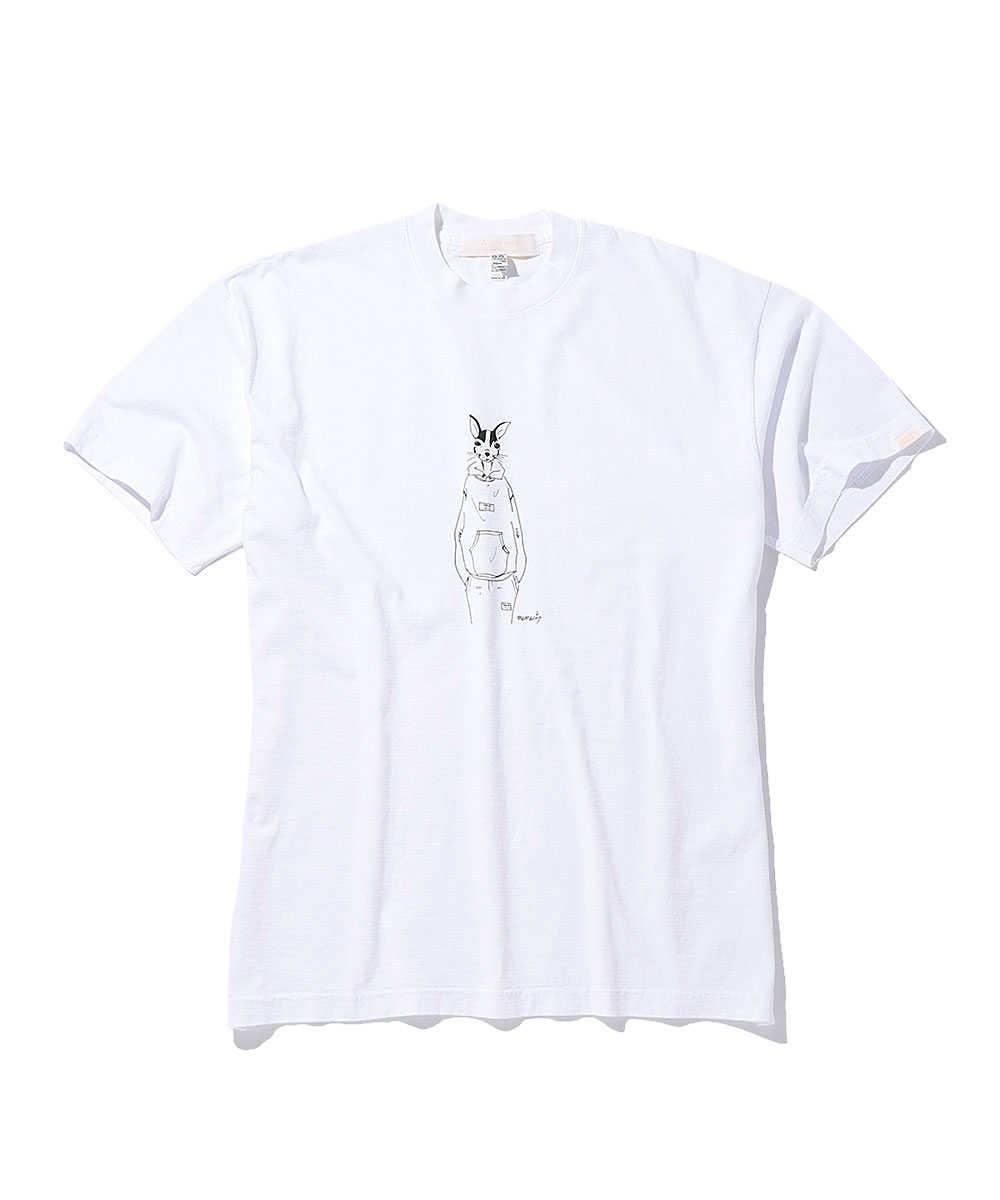 """エイブレンズ×メメシ """"チワワ""""クルーネックTシャツ"""
