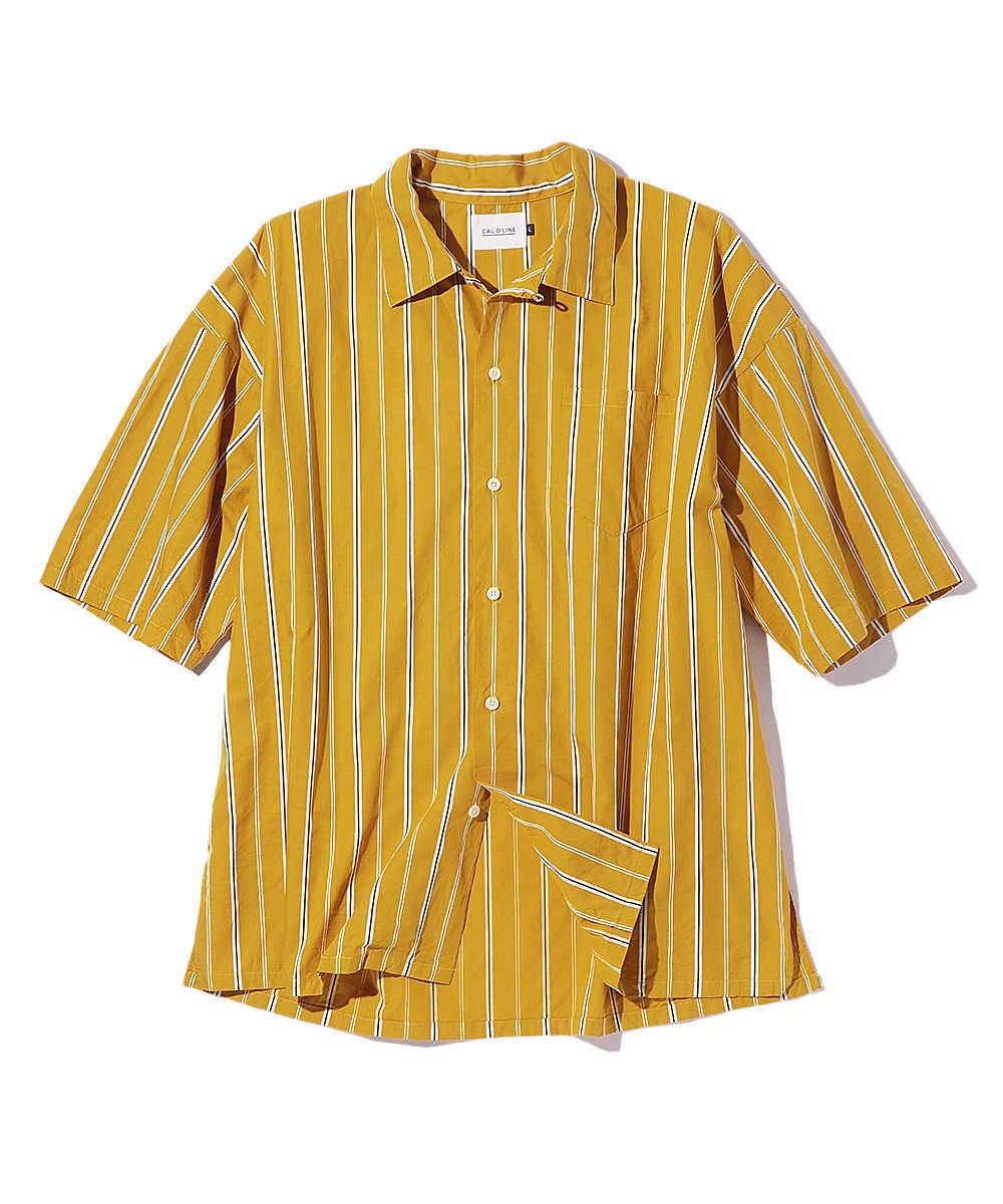 フリスコストライプ半袖シャツ