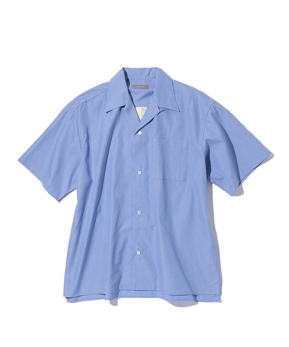 1ポケットオープンカラー半袖シャツ