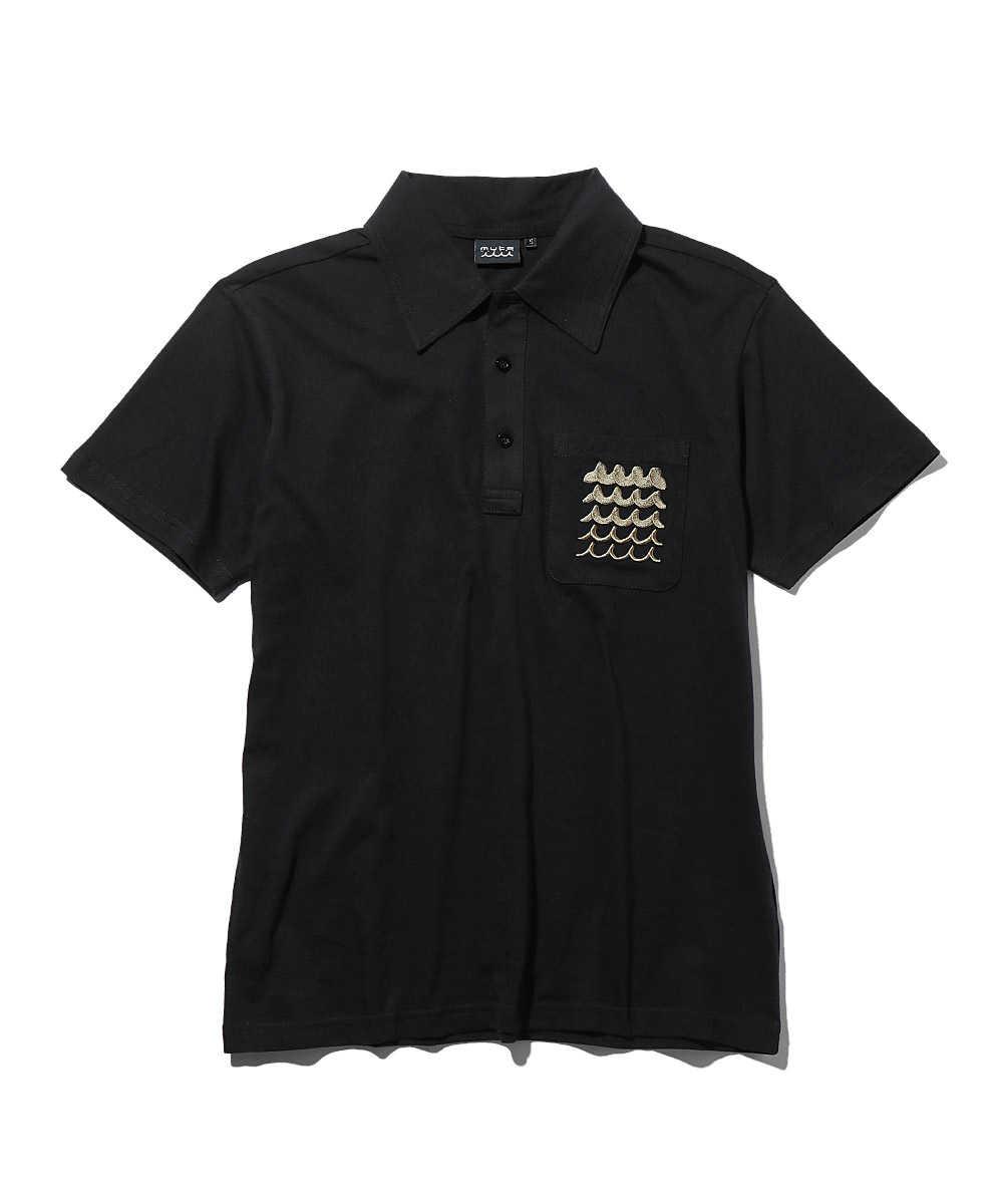 ウェーブポケットポロシャツ CLEANSE(R)