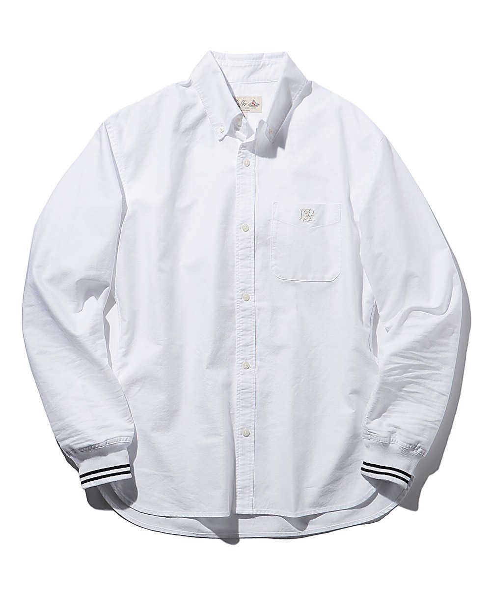 2ラインオックスリブシャツ
