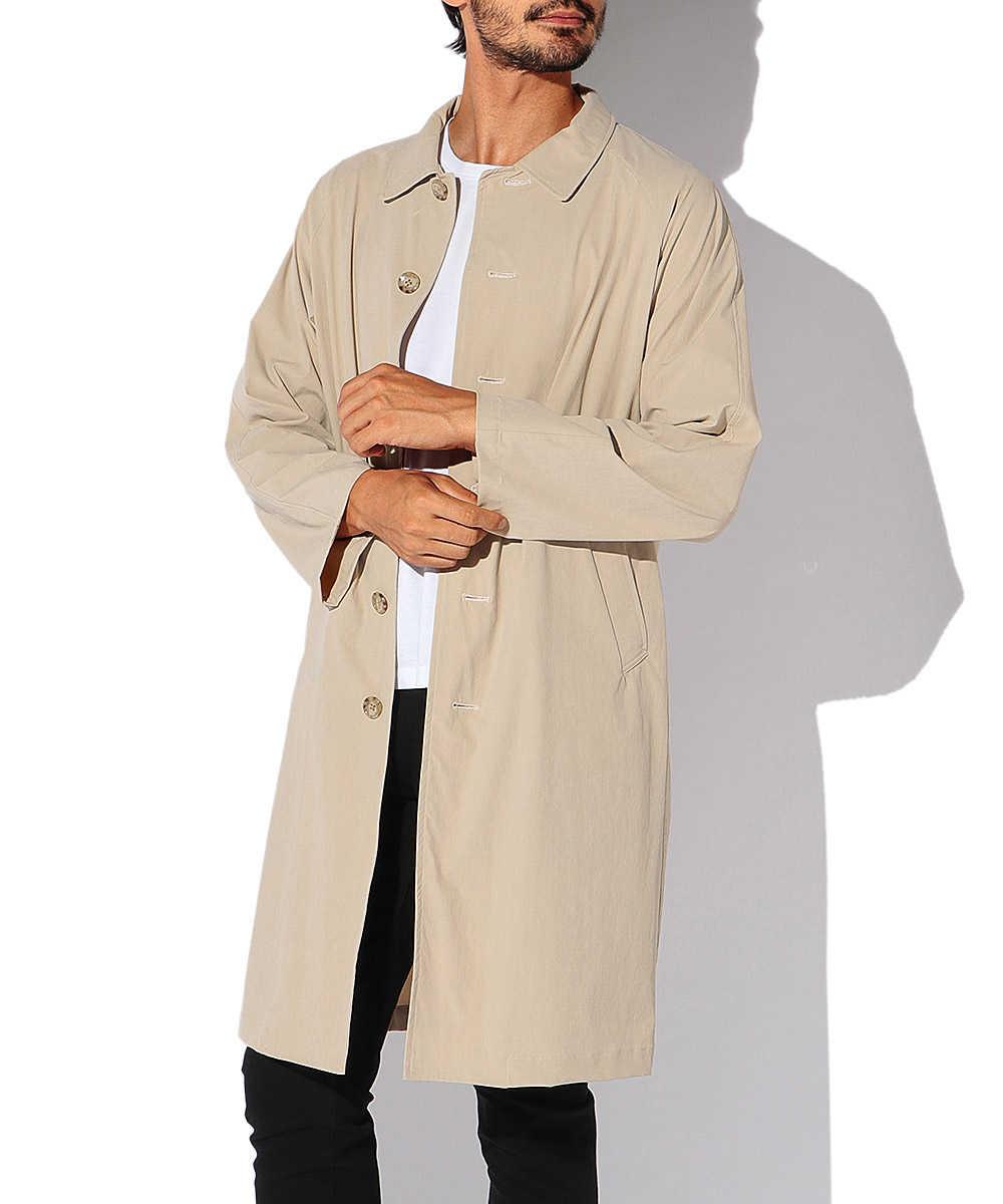 【限定商品】ナイロンステンカラーコート