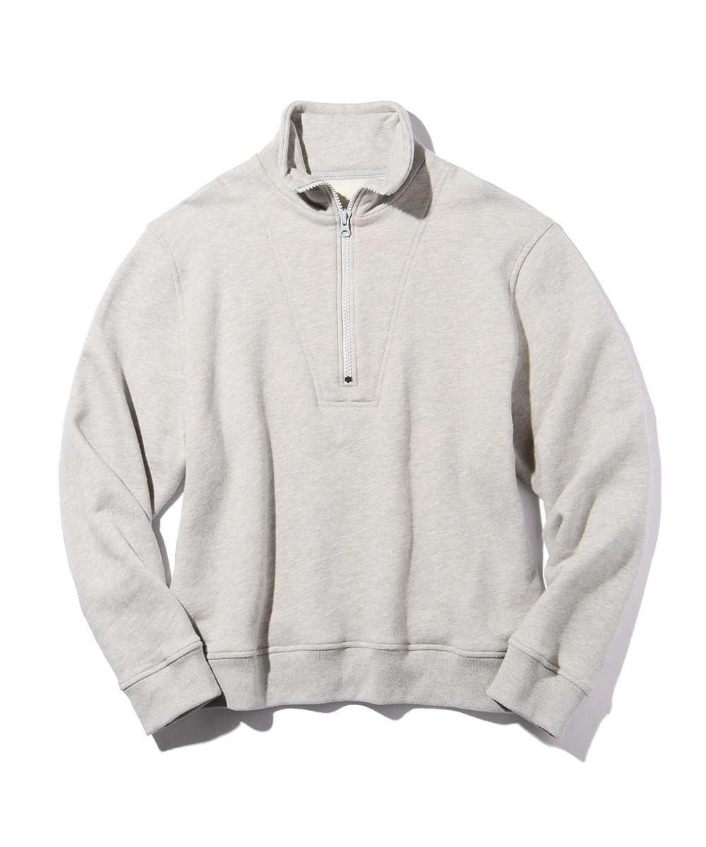 【限定商品】ハーフジップスウェットシャツ