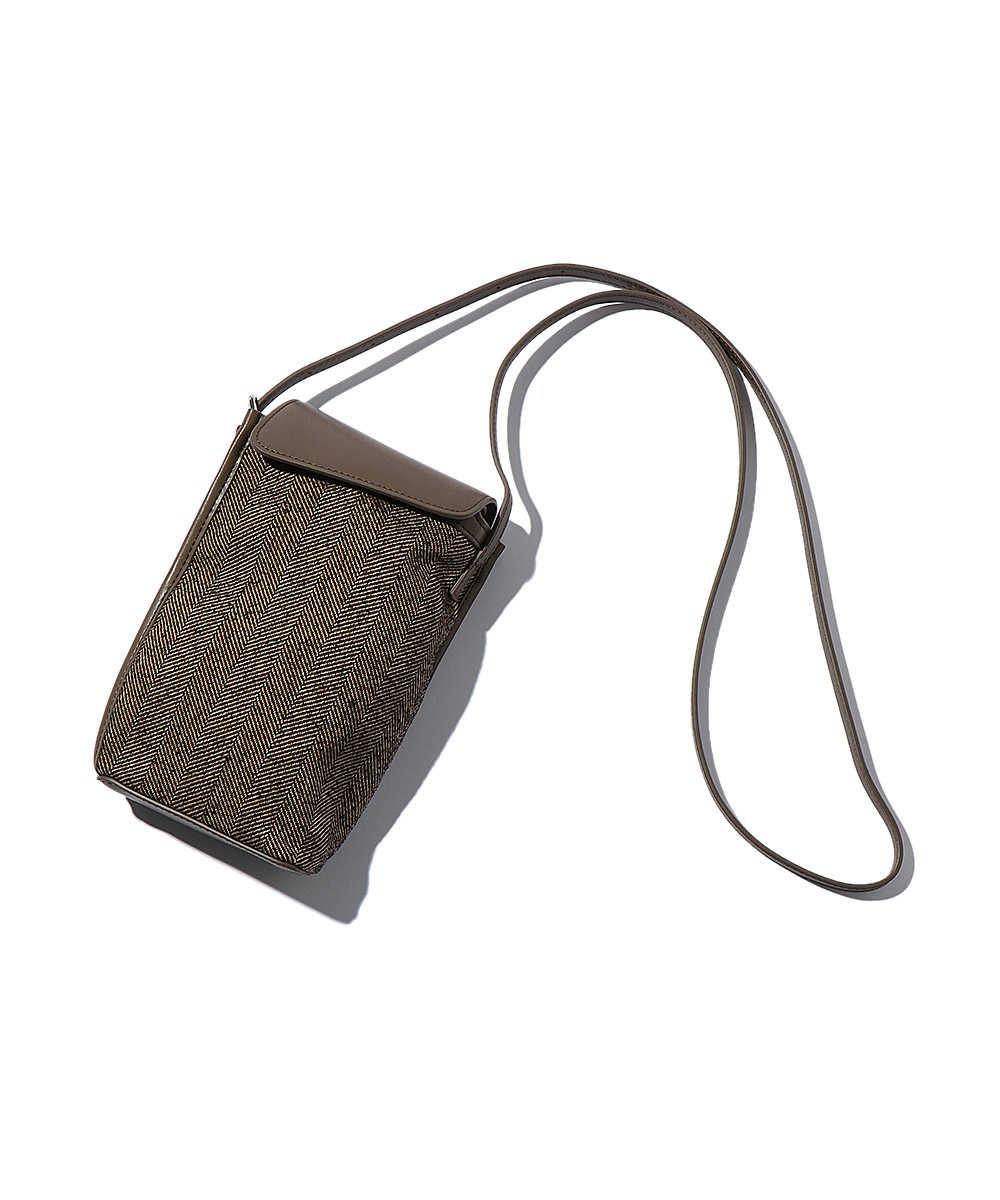 ヘリンボーンミニショルダーバッグ
