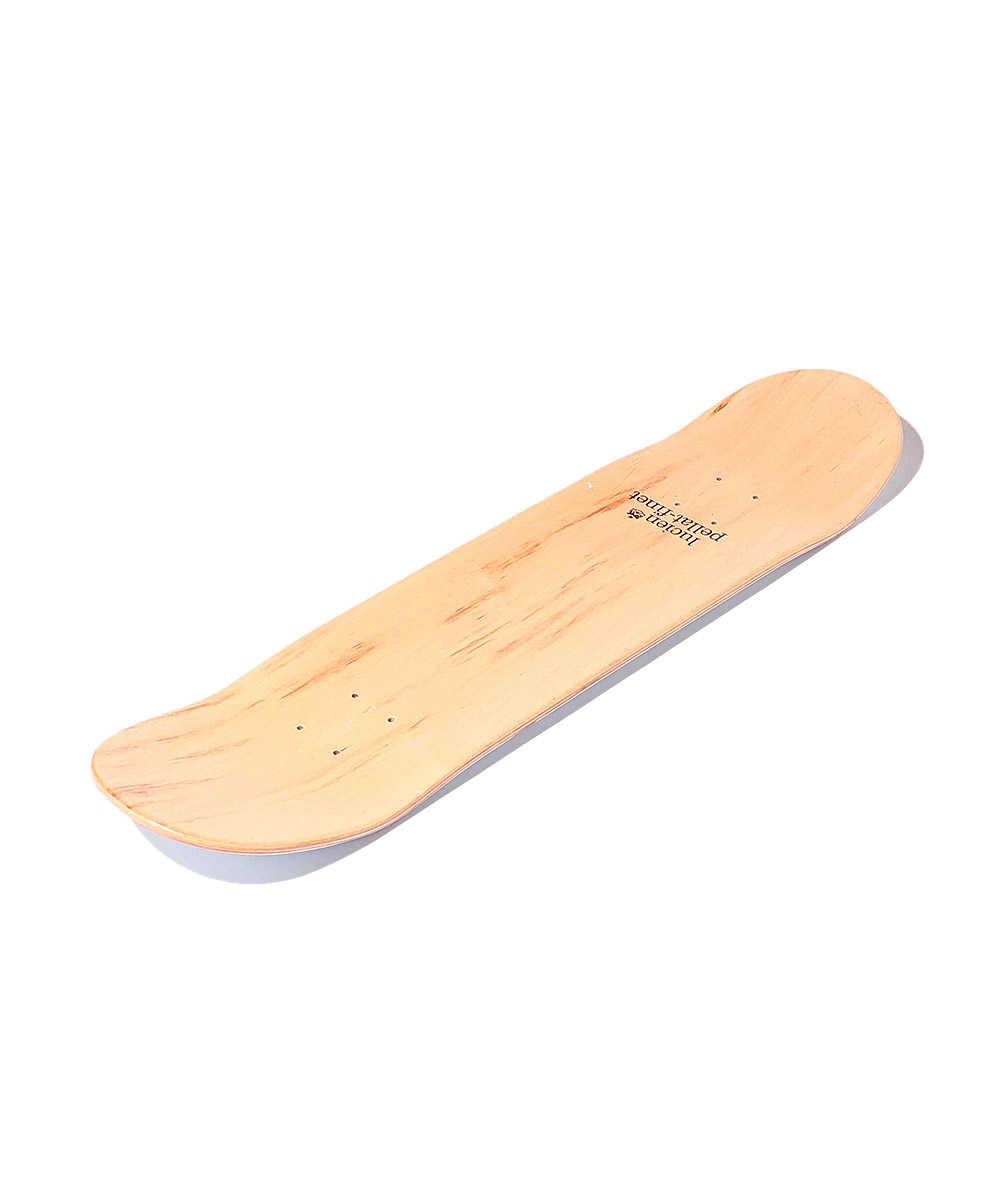 3アイコンプリントスケートボードデッキ