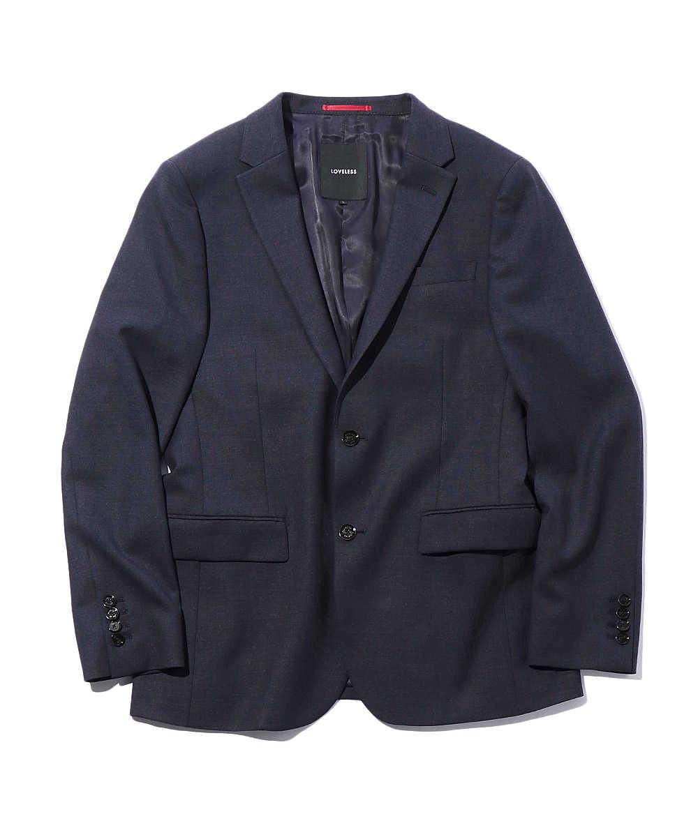 ウールライク ストレッチテイラードジャケット