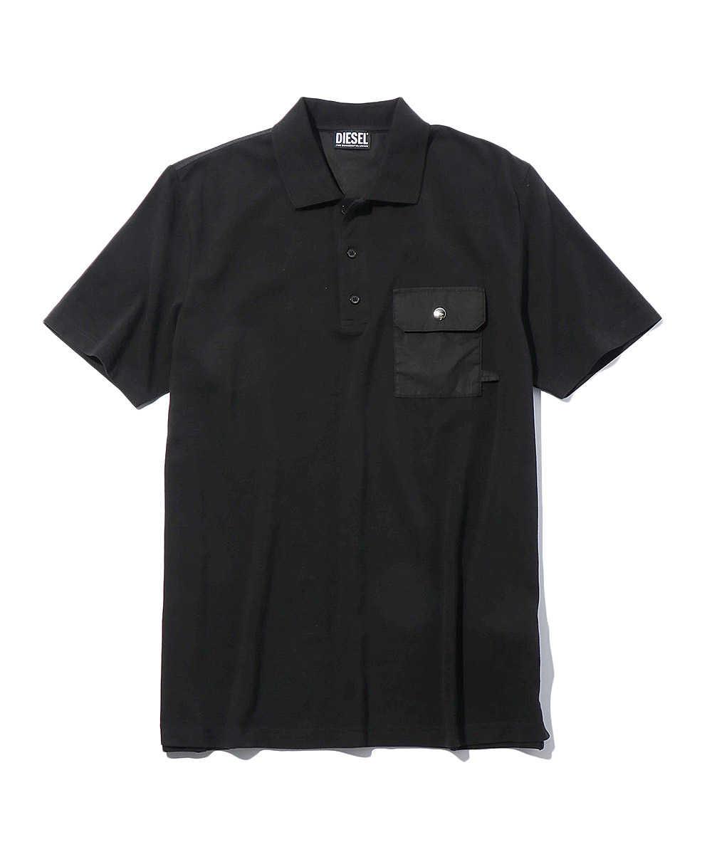 フラップポケットポロシャツ