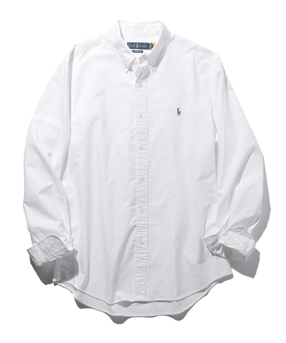 ボタンダウンオックスフォードシャツ