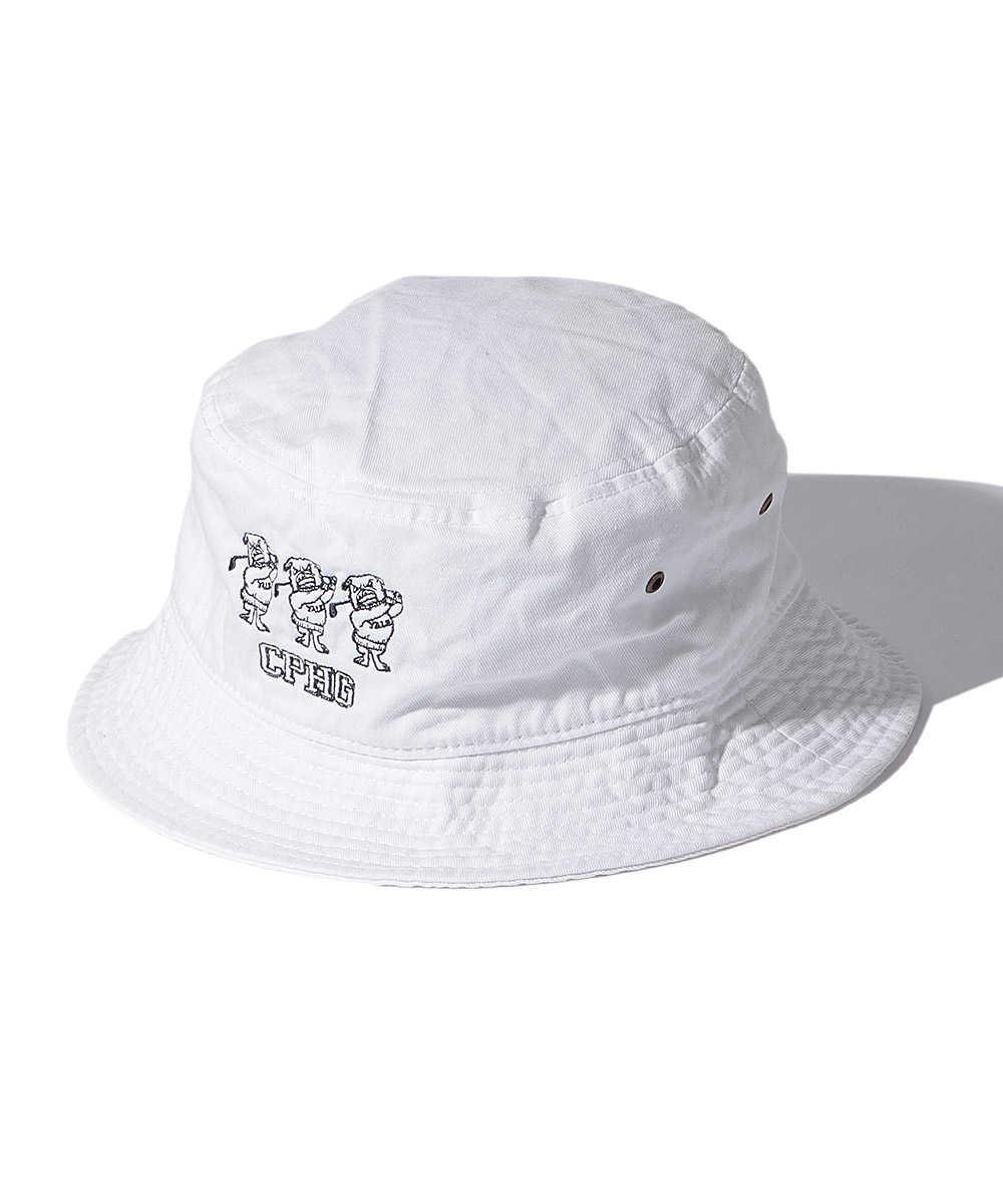 【10月上旬入荷予定】イェール ユニバーシティ×キャプテンズ ヘルム ゴルフ バケットハット