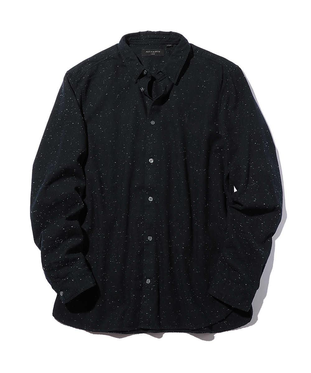 ラムスカル刺繍エルマイラシャツ