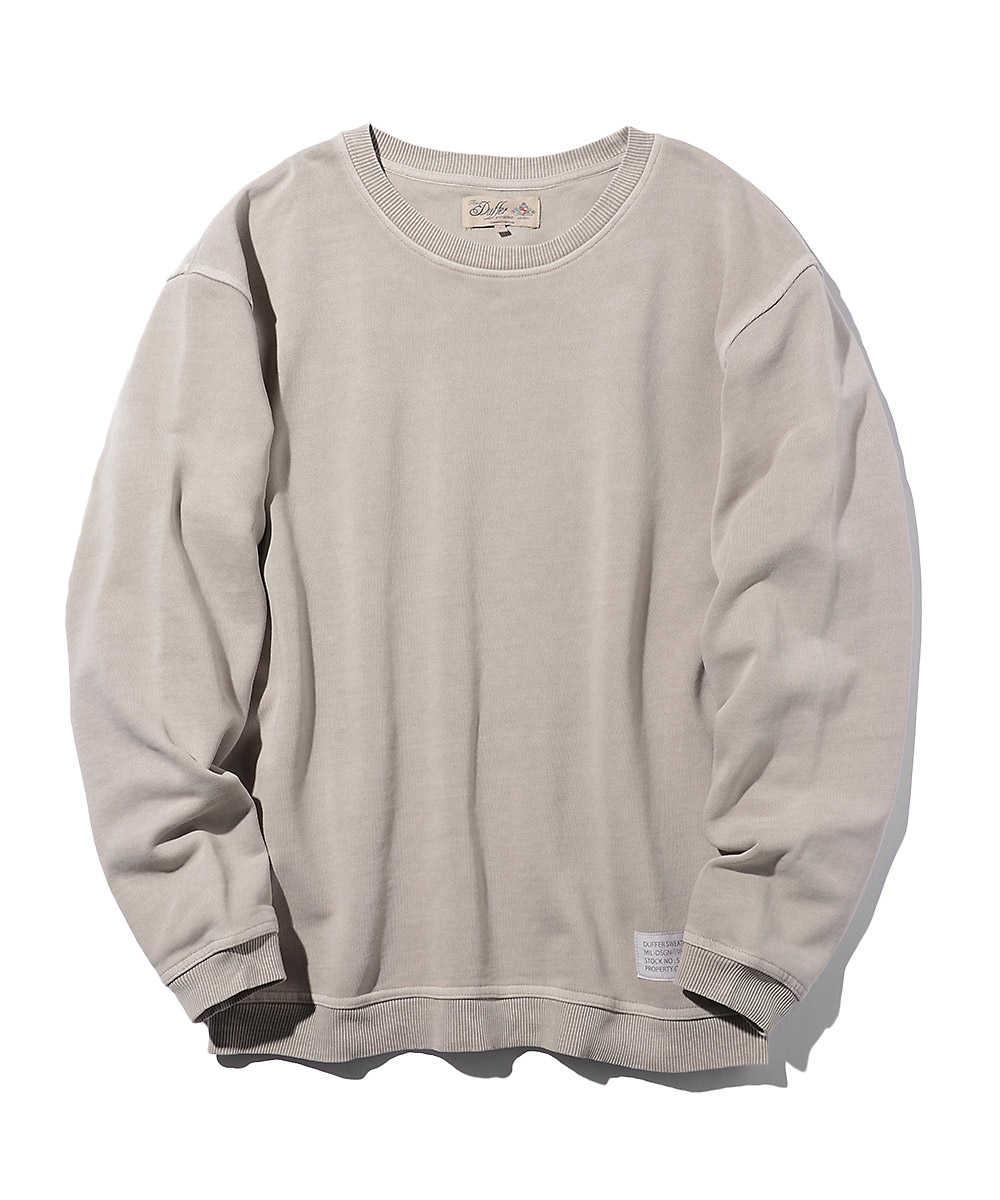 【別注・先行商品】ピグメントクルーネックスウェットシャツ