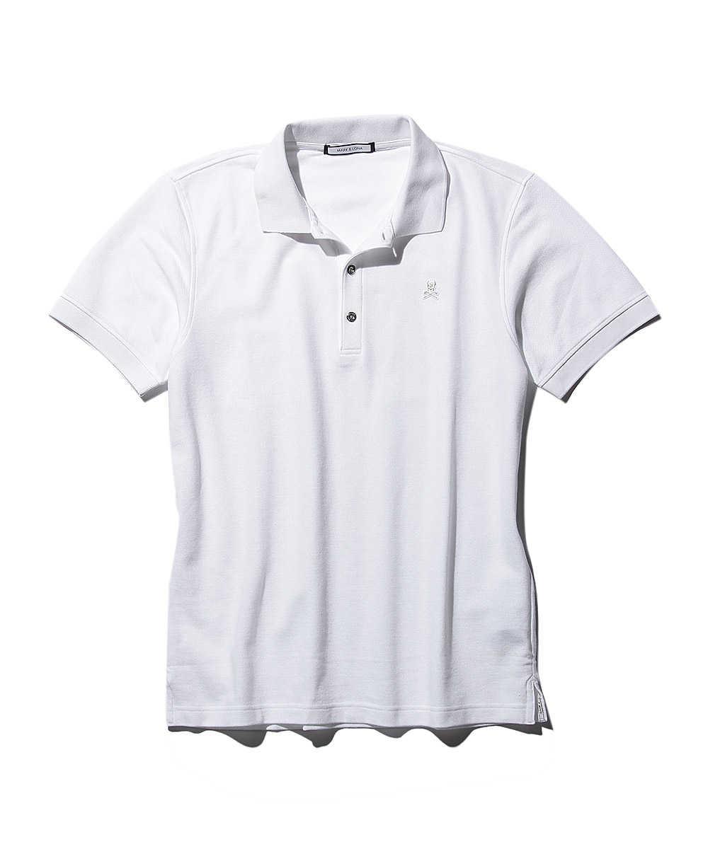 ワンポイントロゴ刺繍ポロシャツ