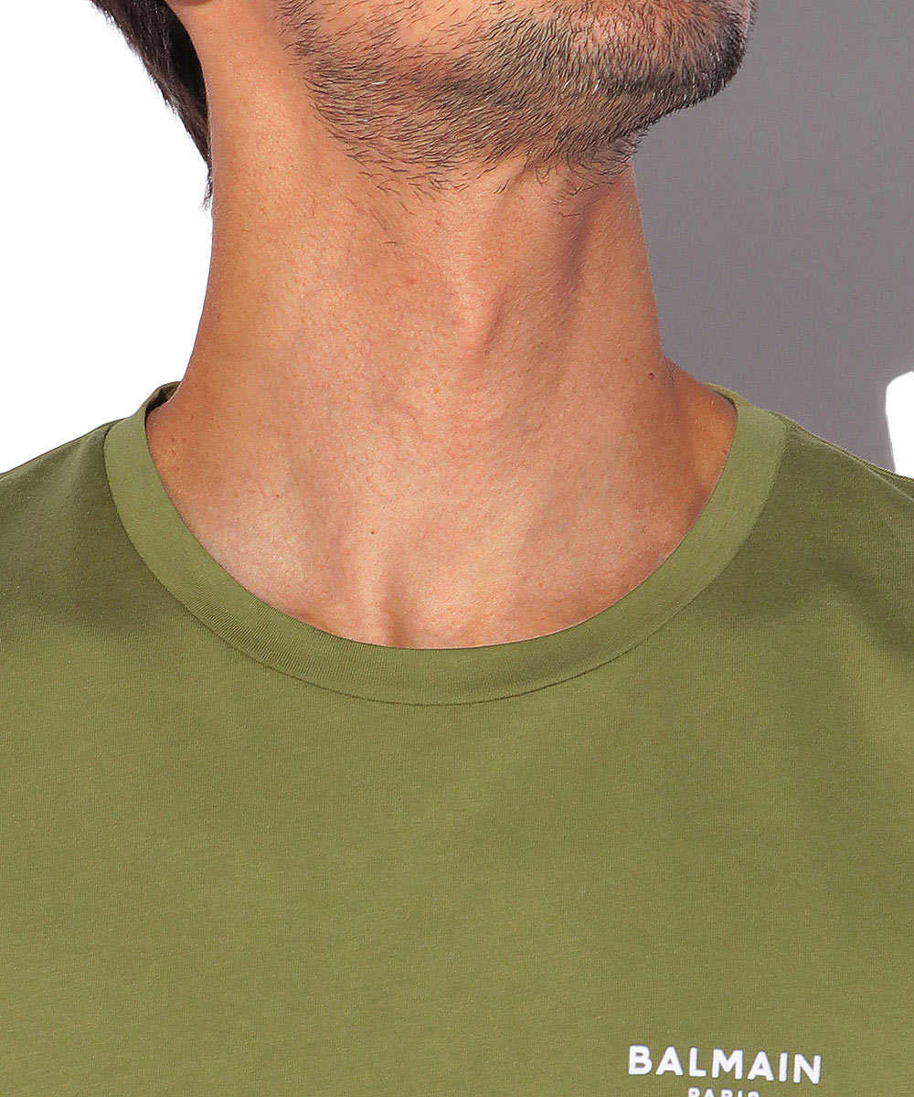 ロゴプリントクルーネックTシャツ
