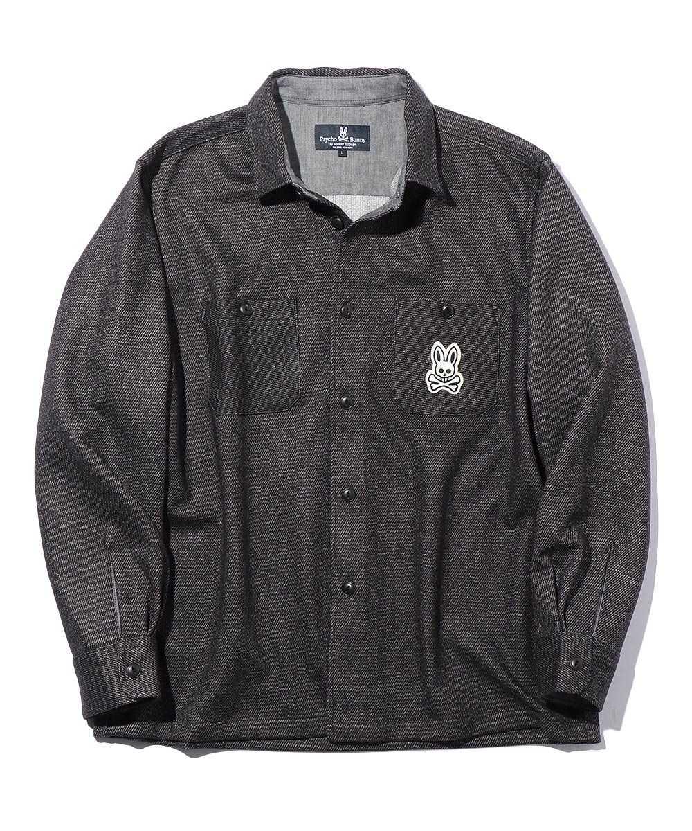 ダウンファブリック シャツジャケット
