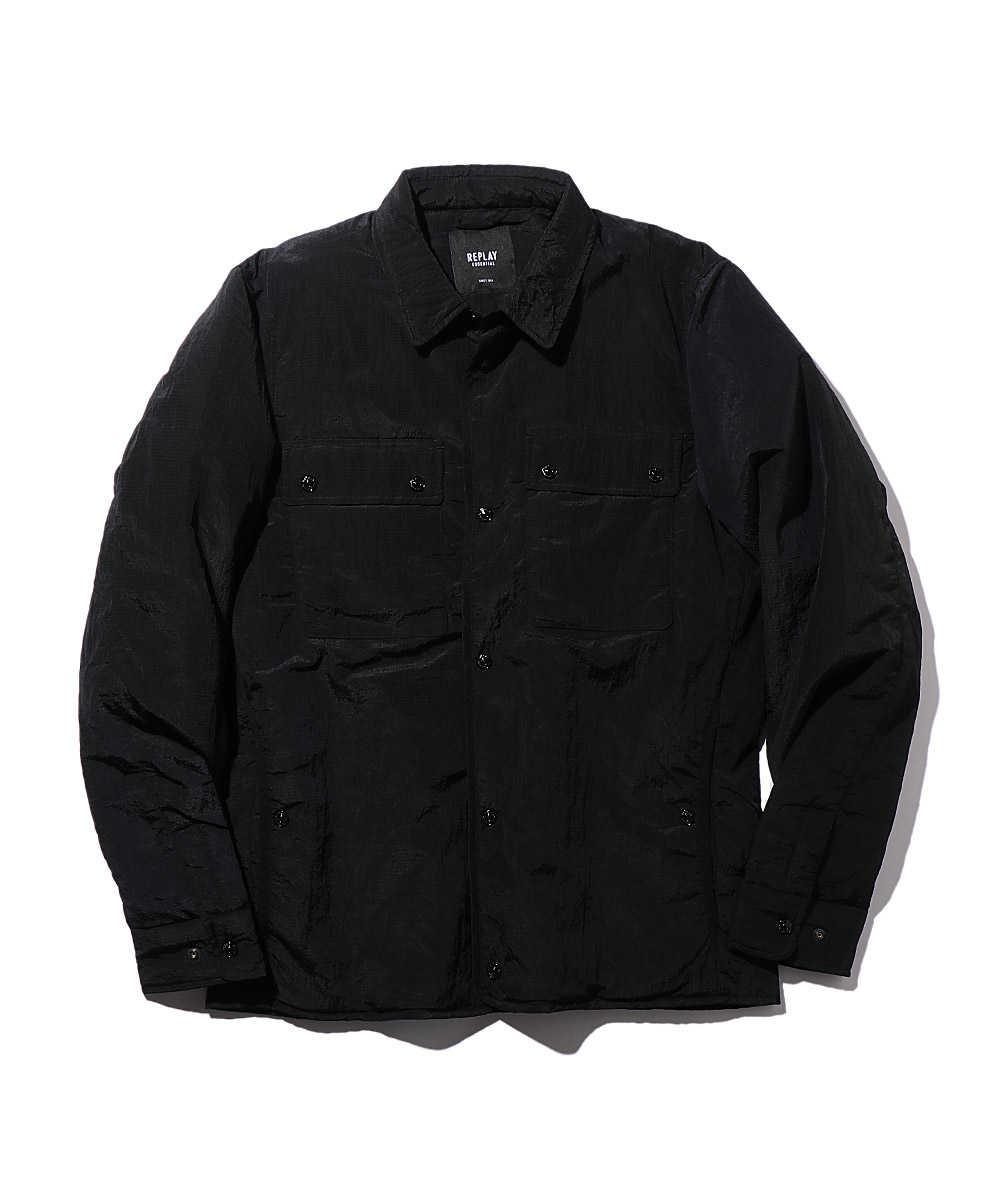 ナイロンオーバーシャツジャケット