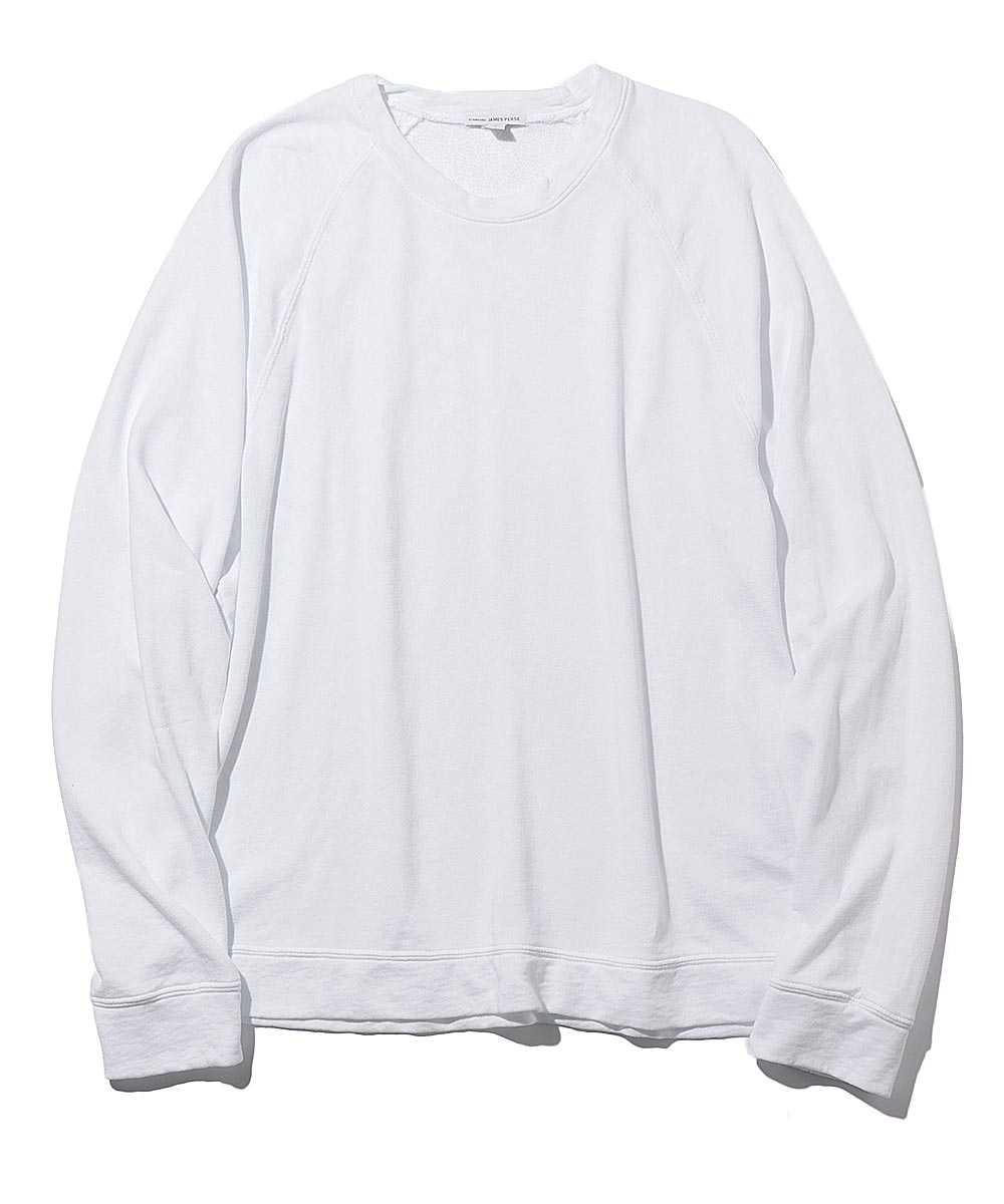 フレンチテリーコットンスウェットシャツ
