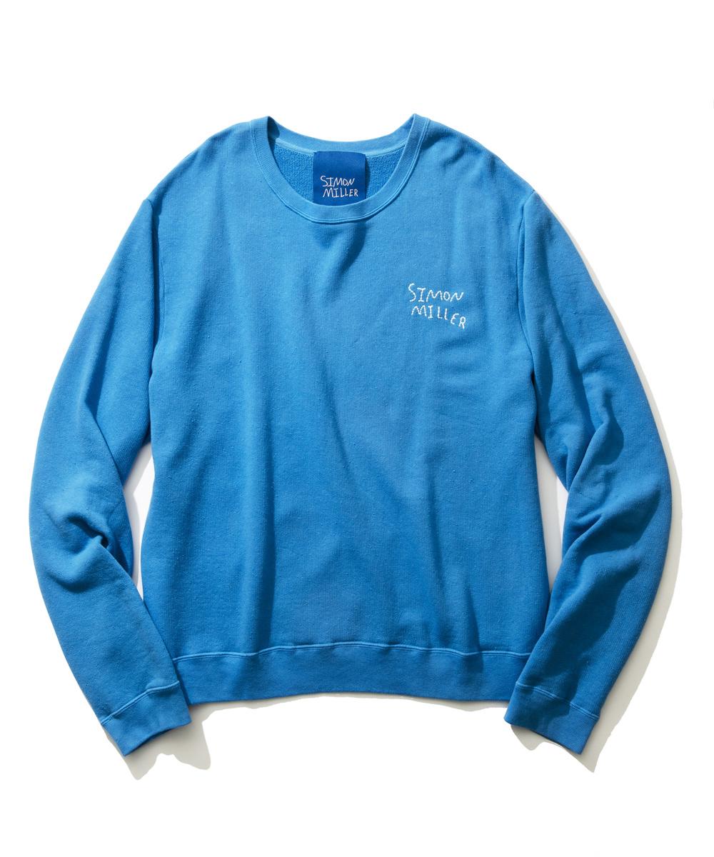【別注・限定商品】ロゴ刺繍スウェットシャツ